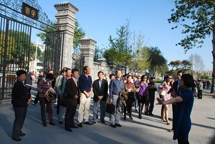 10.14全国公园协会参观北宁整治成果
